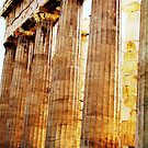 Parthenon Enhanced by RightSideDown