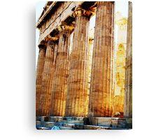 Parthenon Enhanced Canvas Print