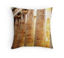 Parthenon Enhanced Throw Pillow