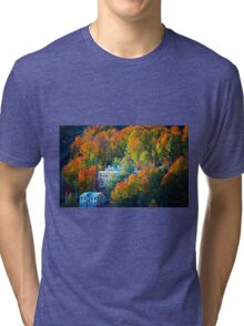 Bromont Resort in Autumn Tri-blend T-Shirt