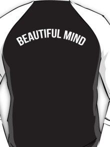 Pure Beautiful Mind (White on Black) T-Shirt