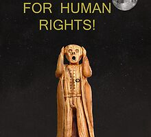 Scream For Human Rights by Eric Kempson