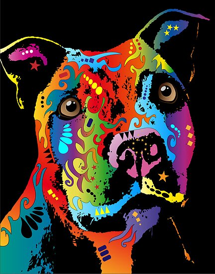 Staffordshire Bull Terrier by ArtPrints