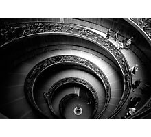 Vatican stairway Photographic Print
