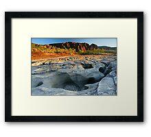 Camping at Bungle Bungles Range, Purnululu National Park, Western Australia Framed Print