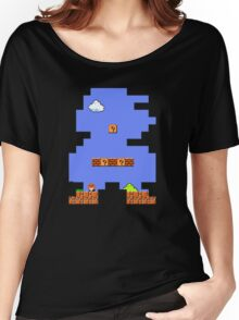 Super Mario Retro Women's Relaxed Fit T-Shirt