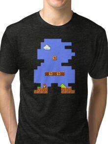 Super Mario Retro Tri-blend T-Shirt