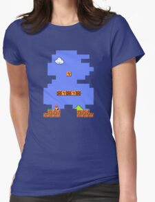 Super Mario Retro Womens Fitted T-Shirt