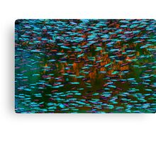 Underwater Abstract Gallery - Piece 5 (Surrealistic) Canvas Print