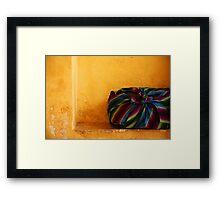 Colour Bag Framed Print