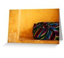 Colour Bag Greeting Card