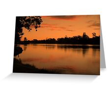 Sunlit Reflections Greeting Card