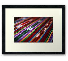 Guatemalan Colours Framed Print