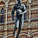 Statue of William Webb Ellis by Avril Harris