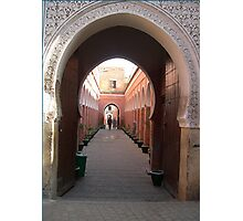 Leaning Arches of Medina Photographic Print