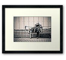 Mystery Man Framed Print