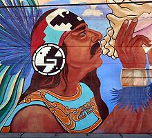 StreetArt in the Barrio by paintingsheep