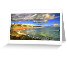 caxias beach Greeting Card