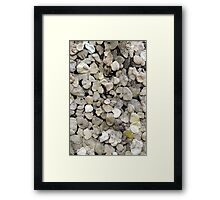 M is for Mauer # 3 Framed Print