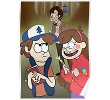 Gravity Falls X Doctor Who Poster
