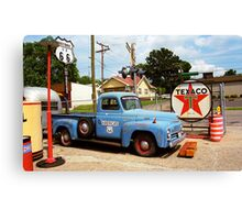 Route 66 - Shea's Gas Station Canvas Print