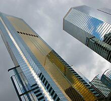 Towers of glass by robigeehk