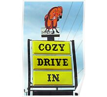 Route 66 - Cozy Dog Drive In Poster