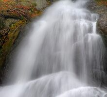 Vermont Waterfall After Hard Rains by Joe Jennelle