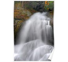 Vermont Waterfall After Hard Rains Poster