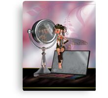 The Make Up Fairy Has Been Again Canvas Print