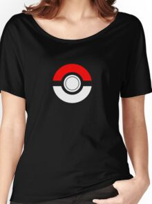 Just the Traditional Pokeball Women's Relaxed Fit T-Shirt