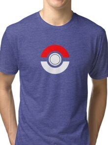 Just the Traditional Pokeball Tri-blend T-Shirt