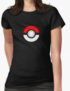 Just the Traditional Pokeball Womens Fitted T-Shirt