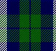 00457 The Blue Boy Tartan  Sticker