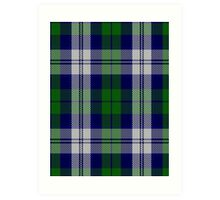 00457 The Blue Boy Tartan  Art Print