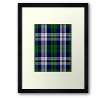 00457 The Blue Boy Tartan  Framed Print