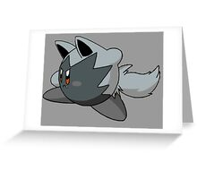 Poochyena | Kirby Edition Greeting Card