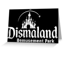 Black and white Dismaland Greeting Card