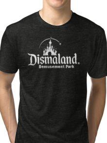 Black and white Dismaland Tri-blend T-Shirt