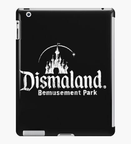 Black and white Dismaland iPad Case/Skin