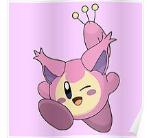 Skitty | Kirby Edition Poster