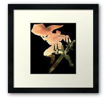 Link and Hyrule - Twilight Princess Framed Print