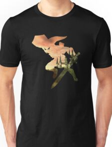 Link and Hyrule - Twilight Princess Unisex T-Shirt