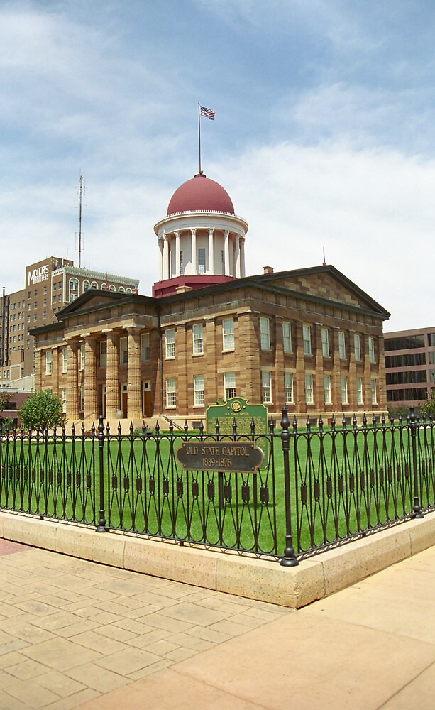 Springfield, Illinois - Old State Capitol by Frank Romeo
