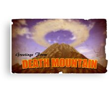 Legend of Zelda - Death Mountain Postcard Canvas Print