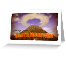 Legend of Zelda - Death Mountain Postcard Greeting Card