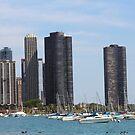 Chicago Skyline by WeeZie