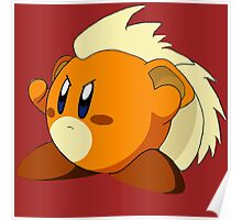Growlithe | Kirby Edition Poster