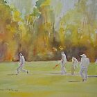 Hythe - the cricket match by Beatrice Cloake Pasquier