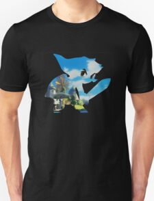 Link and Hyrule - Wind Waker Unisex T-Shirt